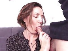 French milf hard fuck - anal, too