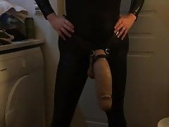 Mistress POV 19 - Mr. Hankeys Nick Capra LG XL as strapon